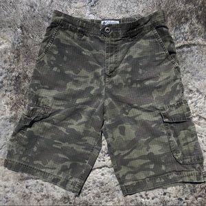 Boy's Sportswear Camo Shorts